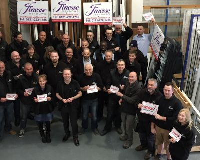 FINESSE WINDOWS SHORTLISTED FOR TOP TITLE